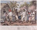 A Cudgelling Match between English and French Negroes on the Island of Dominica - Agostino Brunias