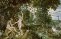 The Garden of Eden with the Fall of Man - Jan & Rubens, P.P. Brueghel