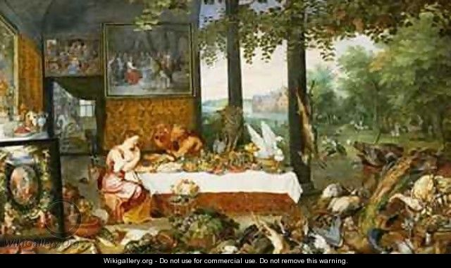 The Sense of Taste - Jan & Rubens, P.P. Brueghel