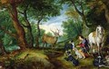 The Vision of St. Hubert - Jan & Rubens, P.P. Brueghel
