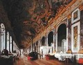 The Hall of Mirrors at Versailles used as Military Hospital for Tending Wounded Prussians in 1871 - Victor Buchereau
