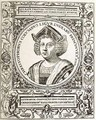Portrait of Christopher Columbus (1451-1506) - (after) Bry, Theodore de