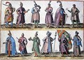 Hungarian and Polish military dress during the Sixteenth century, from