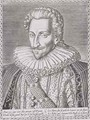 Henri IV (1553-1610) as King of Navarre - (after) Bry, Theodore de