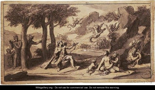 Eight Scenes From The Labors Of Hercules - Francois Verdier