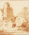 Study Of Ruined Buildings - Jan Baptist Weenix