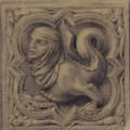 A Study Of A Gothic Stone Carving - John Ruskin