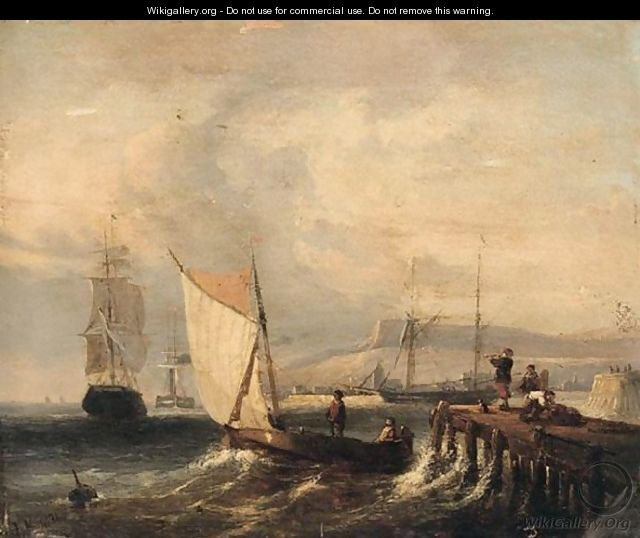 Shipping of a jetty - Dutch School