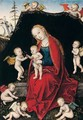 The virgin and child with seven angels - Lucas The Younger Cranach