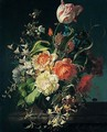 Still life of flowers - Rachel Ruysch