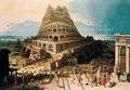 The tower of Babel - (after) Hendrick Van Cleve