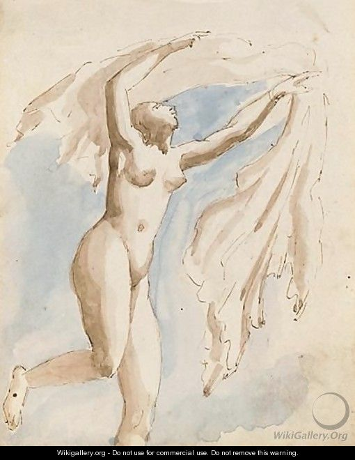 Female nude - William Edward Frost