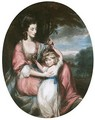 Portrait Of A Lady And Child - Daniel Gardner