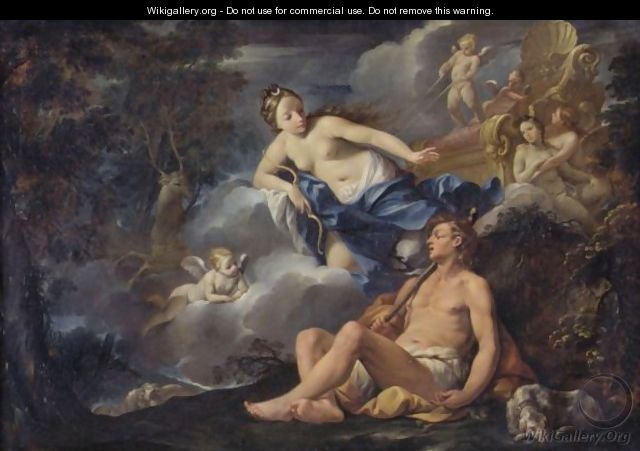Diana And Endymion - Giovanni Gioseffo da Sole