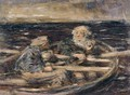 Two Figures In A Rowing Boat - William McTaggart