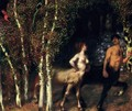 Im Zauberwald (The Enchanted Forest) - Franz von Stuck