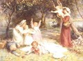 The Family Picnic - Frederick Morgan