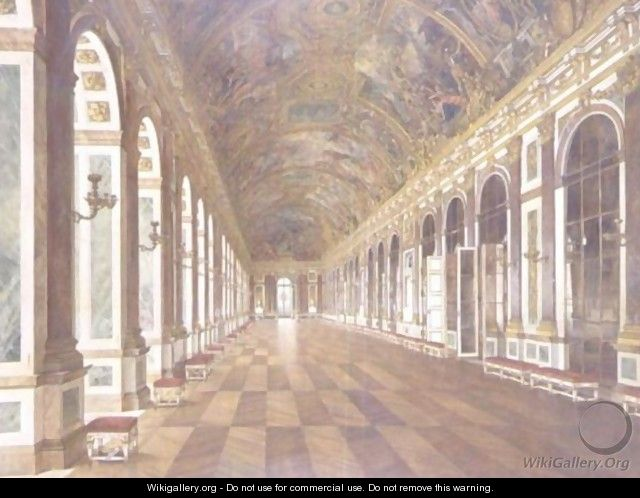 The Hall Of Mirrors, Palace Of Versailles - Carl Karger