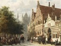 The Orphanage On The Hooglandse Kerkgracht, Leiden - Cornelis Springer