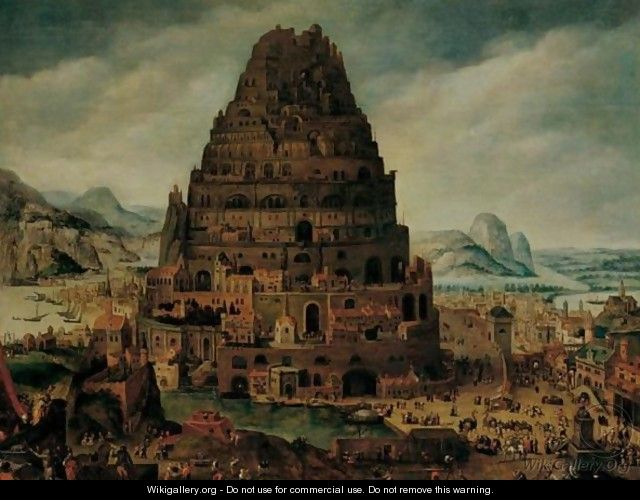 The Tower Of Babel 2 - (after) Abel Grimmer