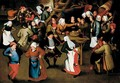 A Wedding Feast In An Interior - (after) Pieter The Younger Brueghel
