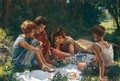 The Picnic - Marianne H. Robilliard