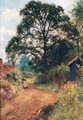 Country Lane - Henry John Yeend King