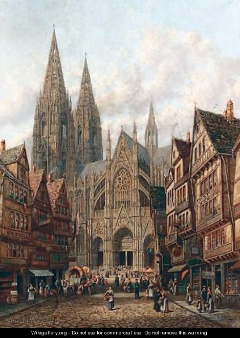 Cologne Cathedral - Henry Thomas Schafer