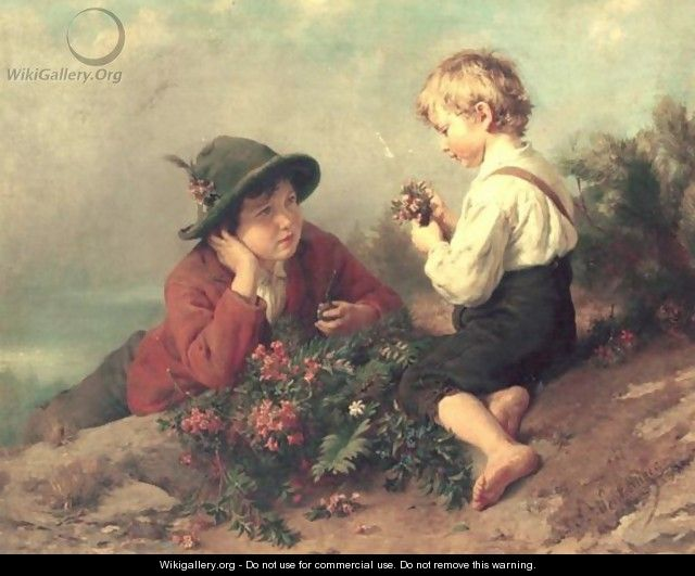 Flower Picking - Felix Schlesinger
