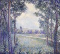 La Chaussee De Limetz, Giverny (On The Way To Limetz, Giverny) - Theodore Butler