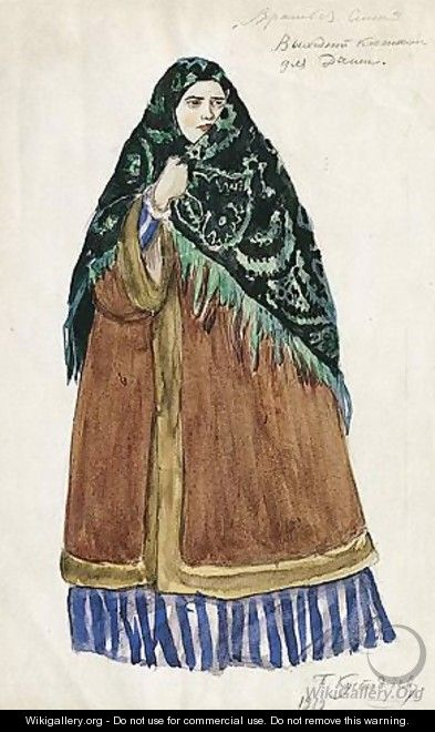 Costume Design For Dasha, The Merchant