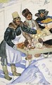 The Bagel Vendors - Boris Kustodiev