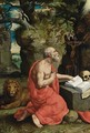 Saint Jerome In The Wilderness - Antwerp School
