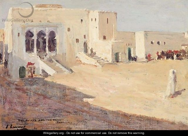 The Palace And The Prison, Tangier - Sir John Lavery