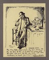 A Three-Page Illustrated Letter To Mrs St George - Sir William Newenham Montague Orpen