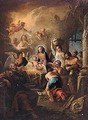 The Adoration Of The Shepherds - Andrea Locatelli