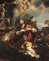 Saint Martina Refuses To Adore The Idols - (after) Cortona, Pietro da (Berrettini)