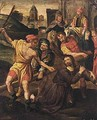 Christ On The Road To Calvary 3 - Flemish School