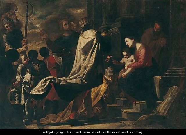 The Adoration Of The Magi - Bernardo Cavallino
