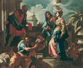 The Visitation - (after) Francesco Solimena