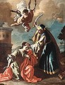 The Martyrdom Of Saint Barbara - (after) Francesco Solimena