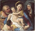 The Holy Family With The Infant Saint John The Baptist And Saint Anne - Paolo di Matteis