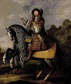 Equestrian Portrait Of A Gentleman - (after) Adam Frans Van Der Meulen