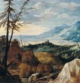 An Extensive Landscape With Pine Trees - Joos De Momper