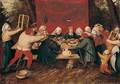 The Wedding Feast 3 - Pieter The Younger Brueghel