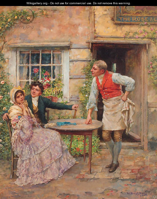 Outside the Rose and Crown - William A. Breakspeare
