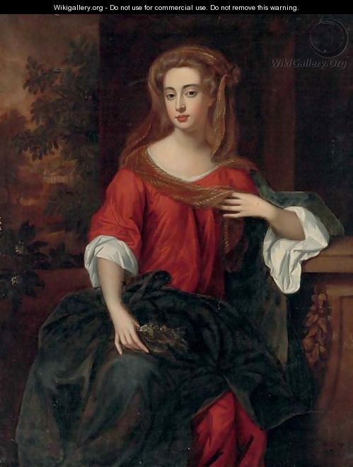 Portrait of a lady - William Wissing or Wissmig