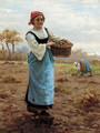 The potato-picker - William Banks Fortescue