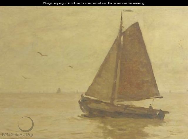 Sailing on open water - Willem Bastiaan Tholen