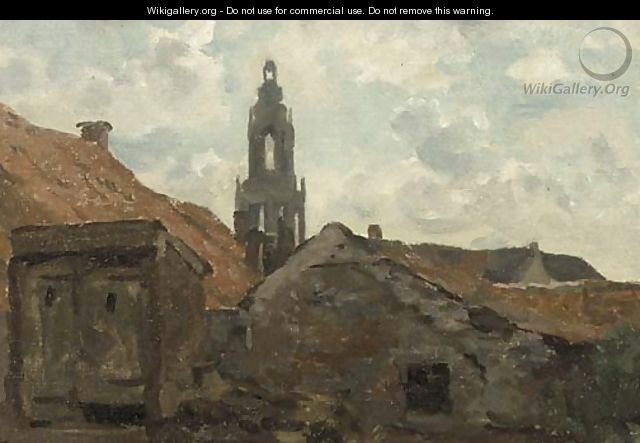 A view of the Cuneratoren, Rhenen - Willem Bastiaan Tholen